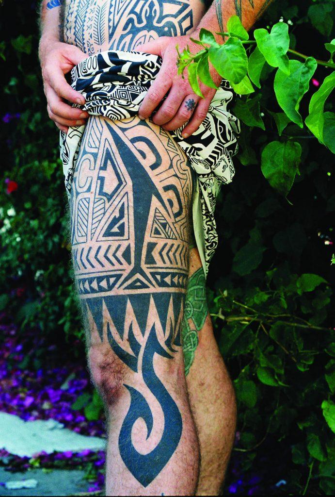 Tattoo by Leo Zulueta.