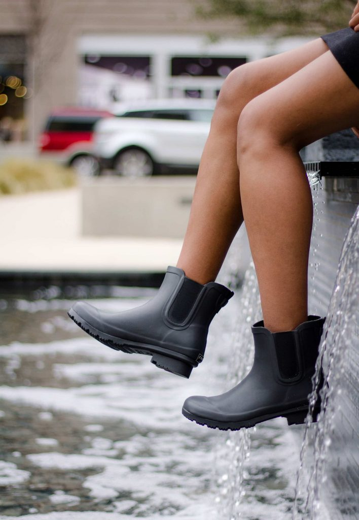 Chelsea Matte Charcoal boots available at Adored Boutique.