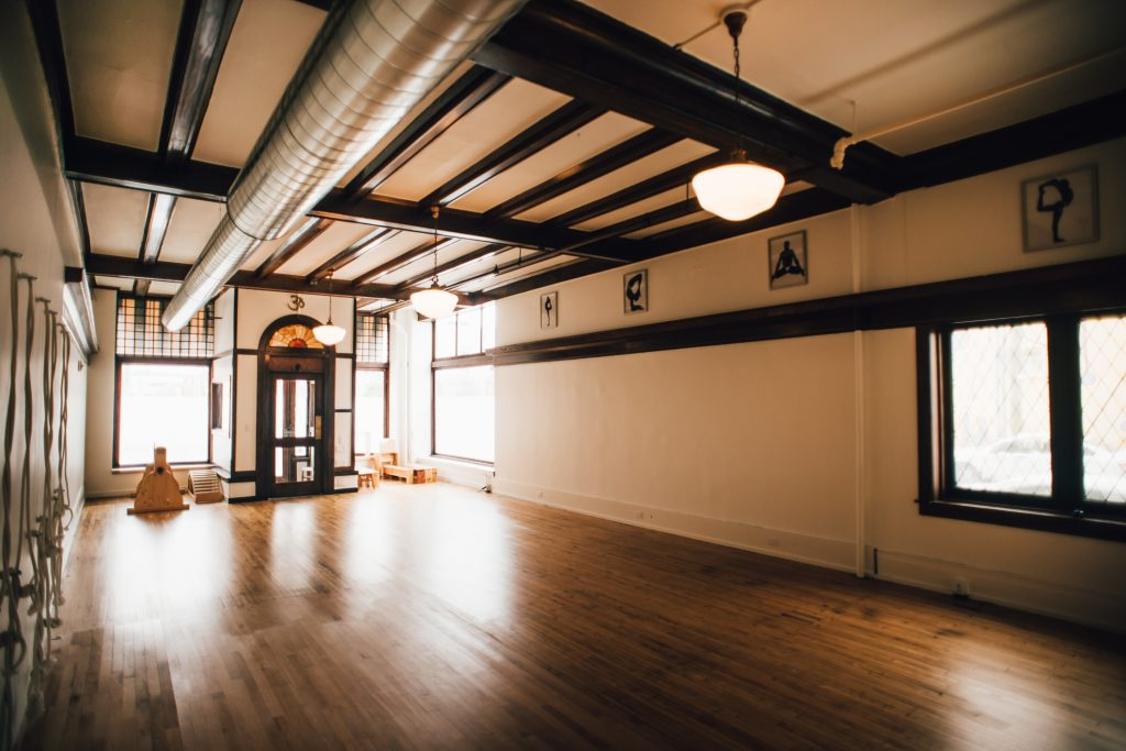Iyengar Yoga Studio opened in January 2016. Photo by Mathew Provoast Photography