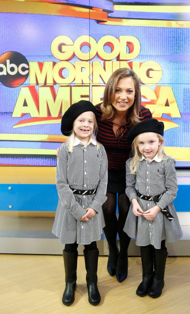 Students from Cooper-Toma and Foster's classes traveled to the ABC News set to visit Michigan native and chief meteorologist Ginger Zee.