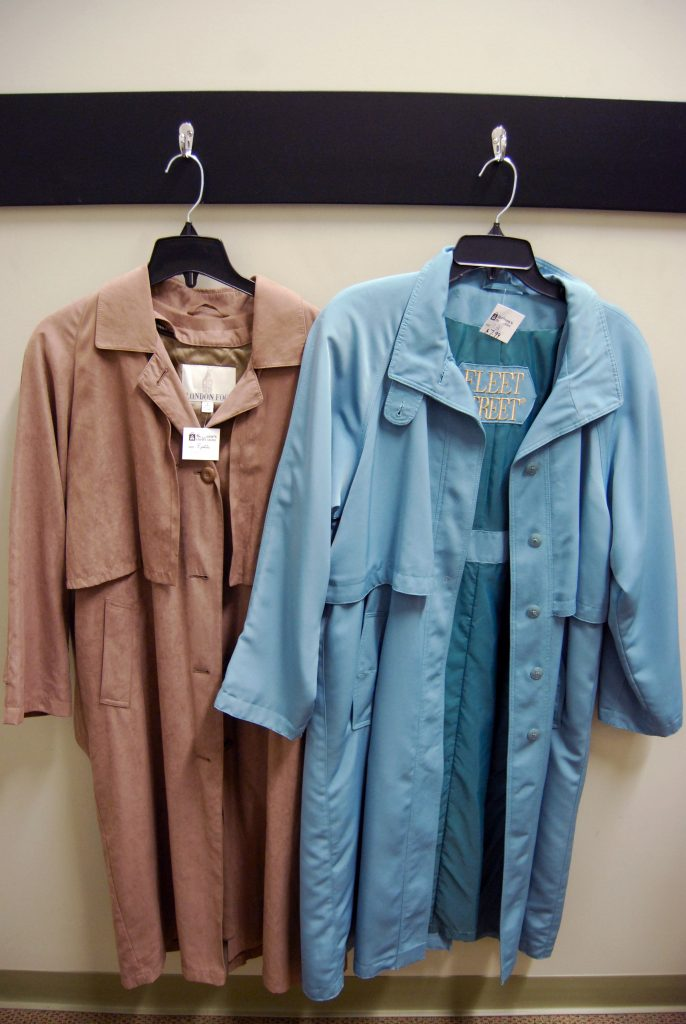 Stock up on trench coats for fall.