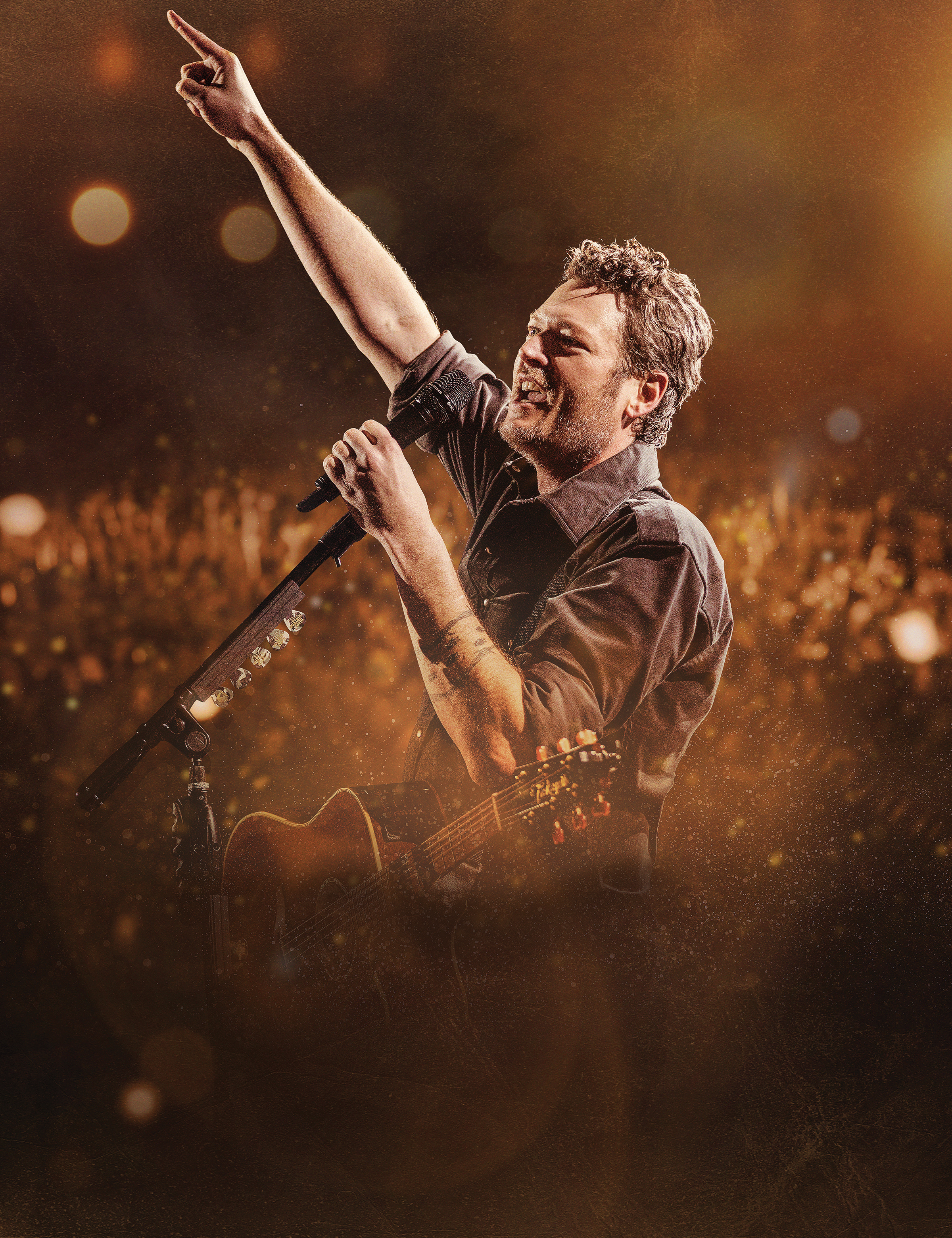 Blake Shelton will perform at Van Andel Arena in February 2018.