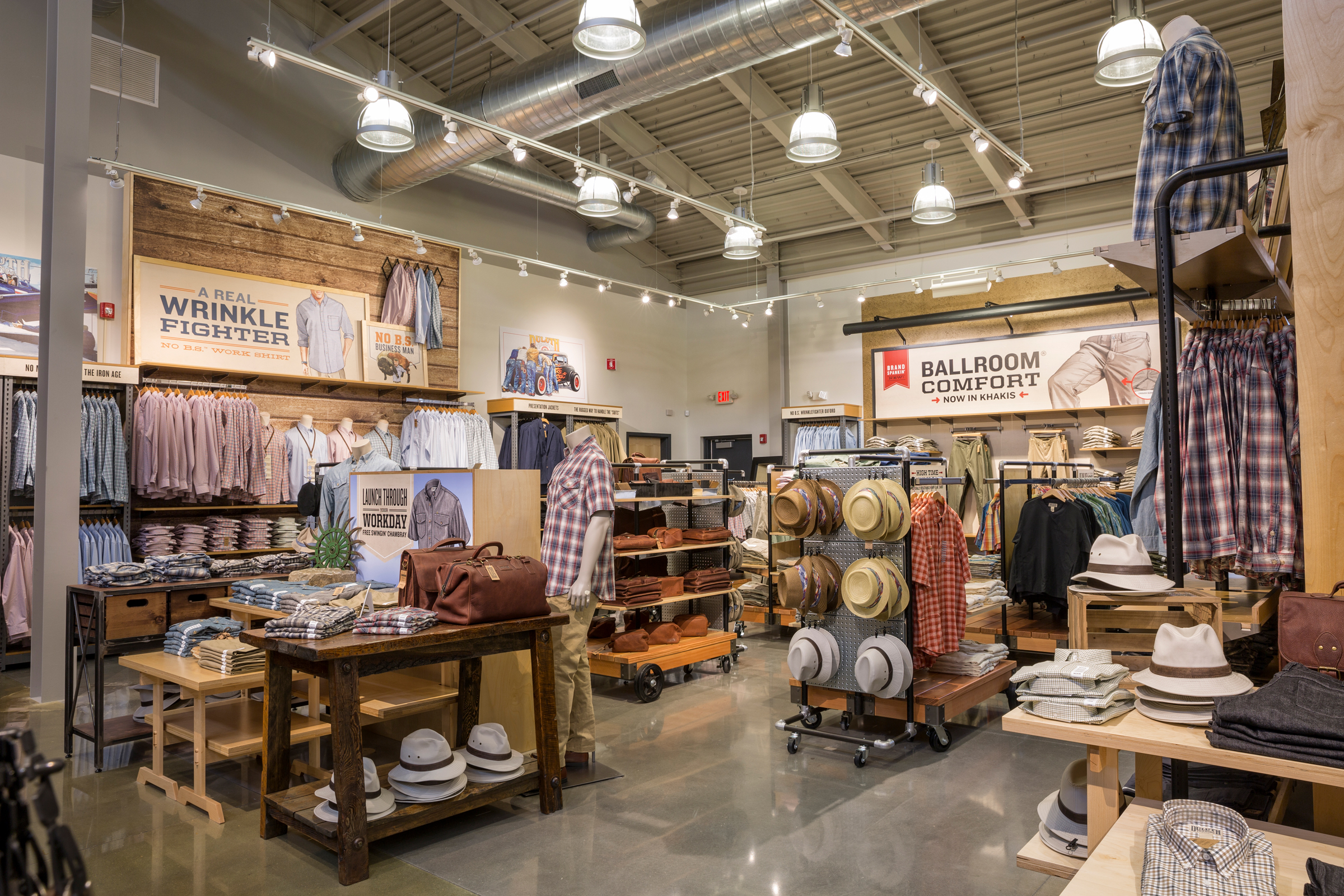 Duluth Trading Co. West Chester store.
