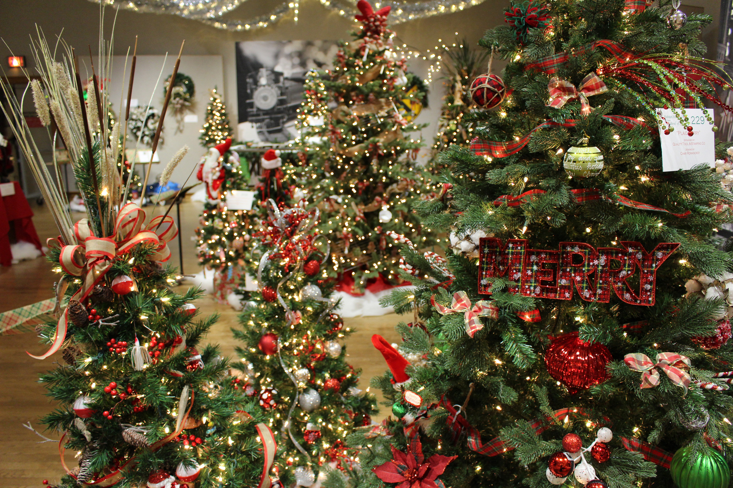 Festival of Trees at the Muskegon Museum of Art