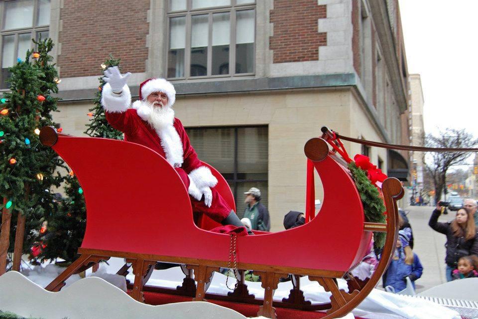 Santa Claus is coming to town for the Art Van Santa Claus Parade