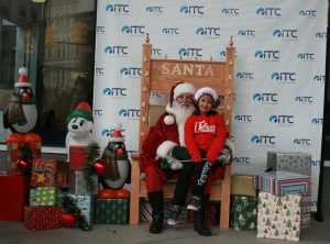 Don't forget to get your picture with Santa after the parade.