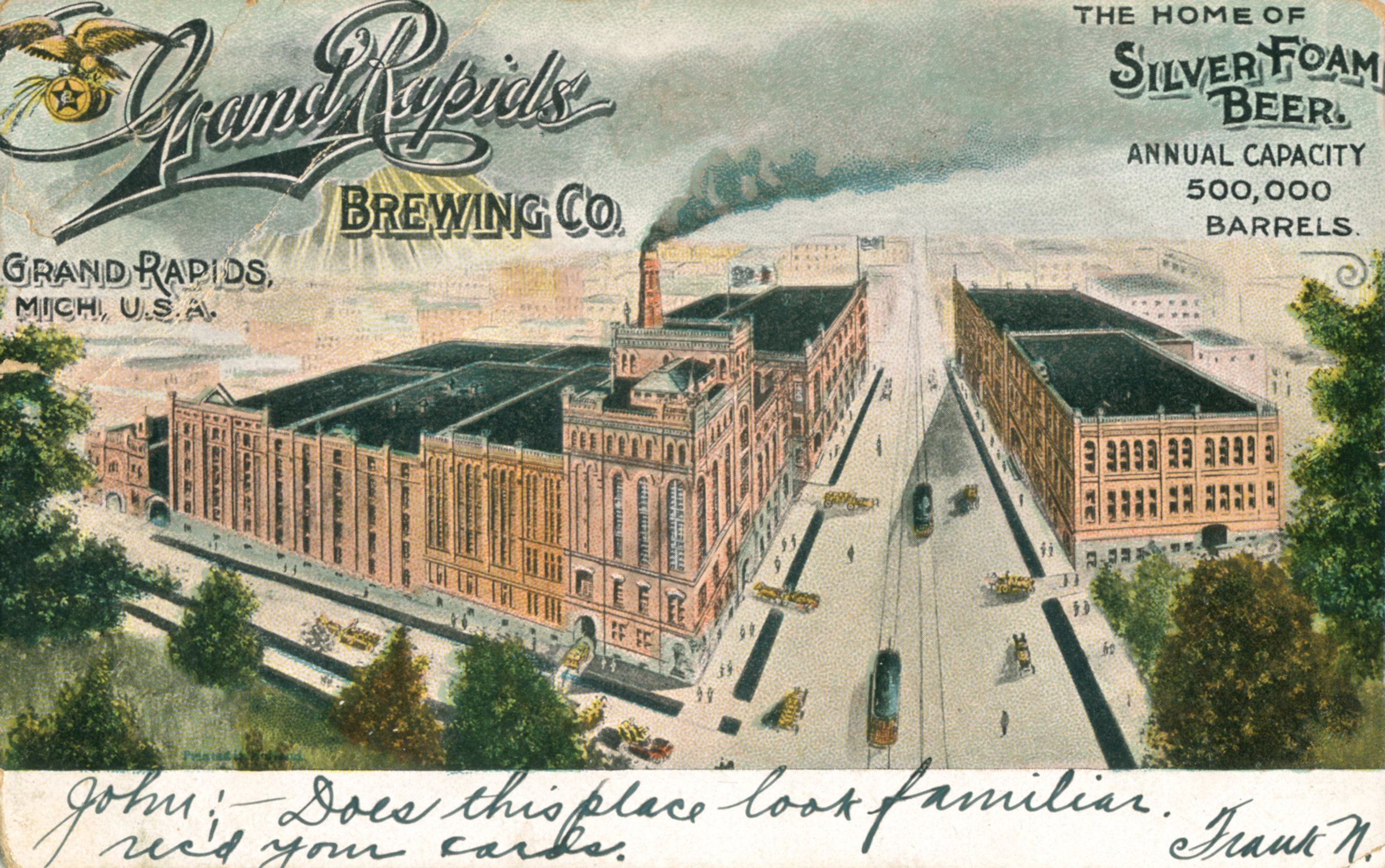 Thomas Dilley Grand Rapids Postcard Collection