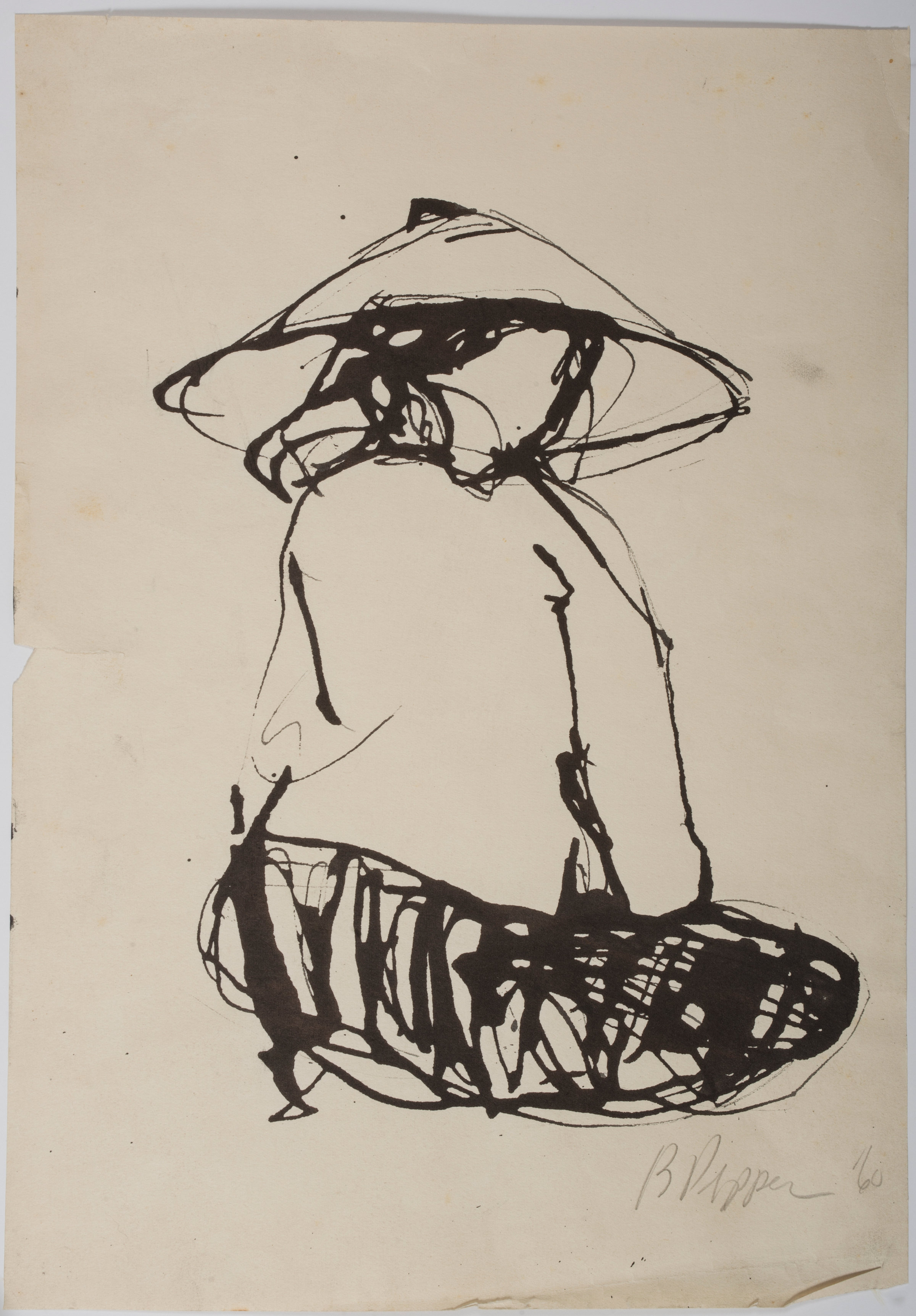 Untitled,-1960,-ink-on-paper---photo-by-Chuck-Heiney