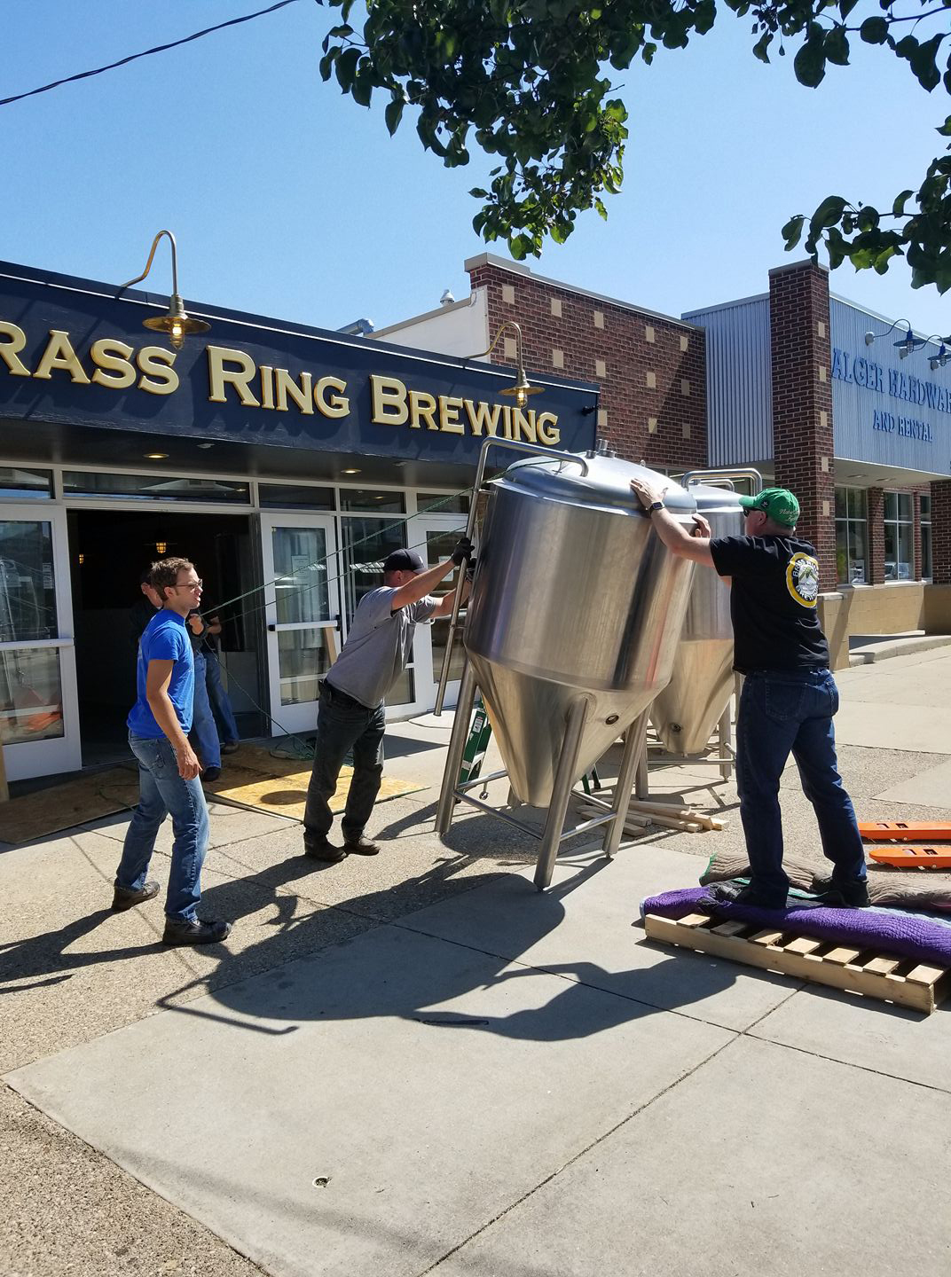 Brass Ring Brewing in Alger Heights.