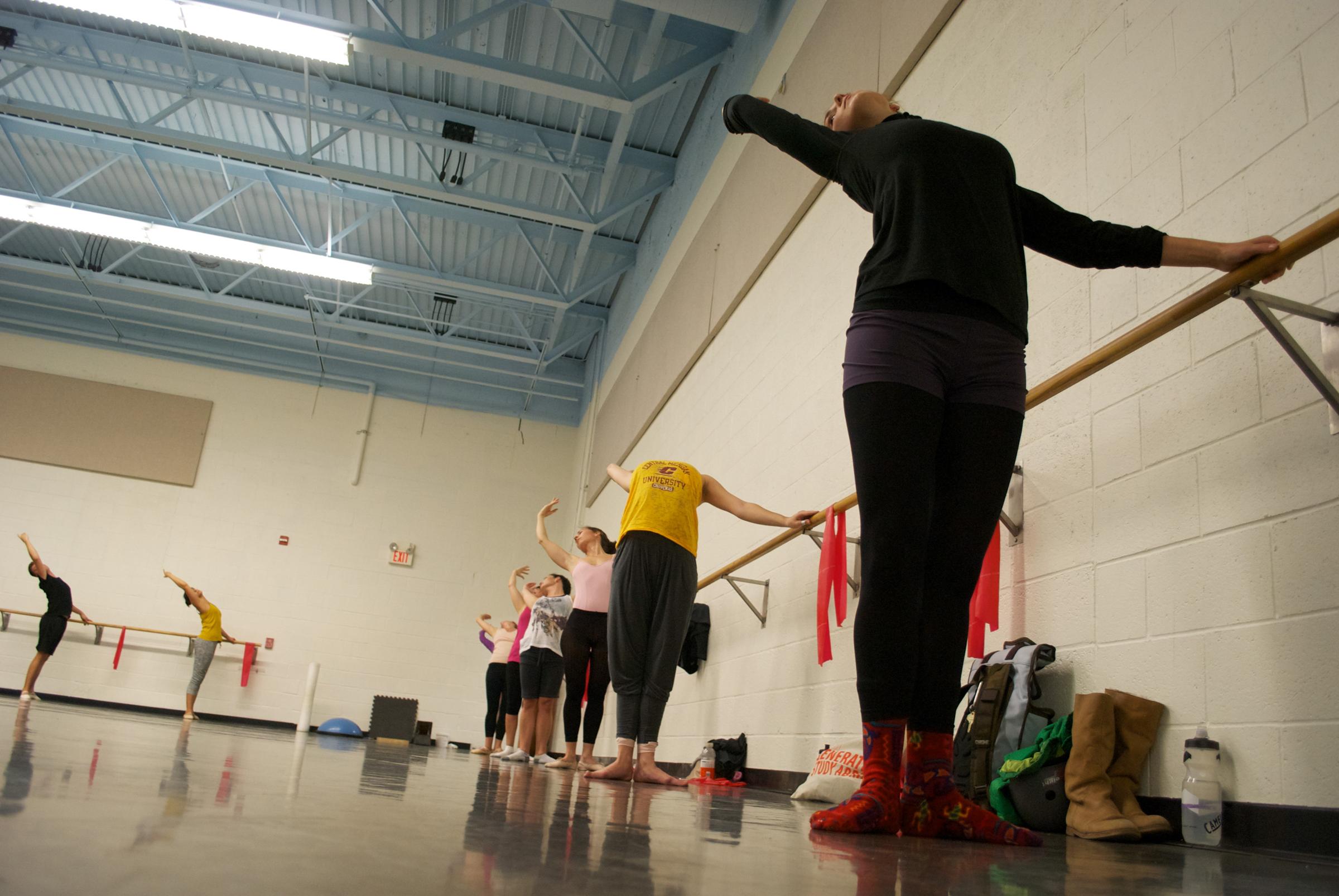 Grand Rapids Ballet offers adult ballet classes.