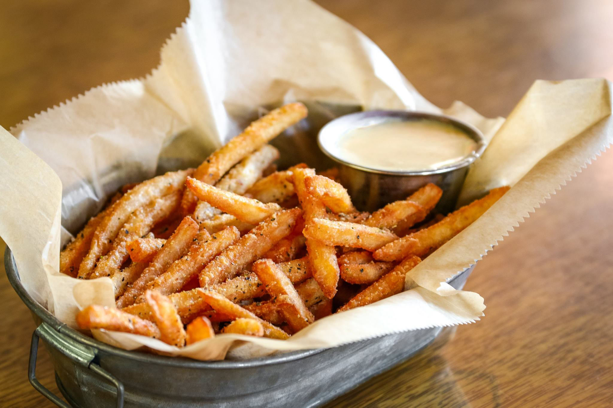 Crack fries from HopCat