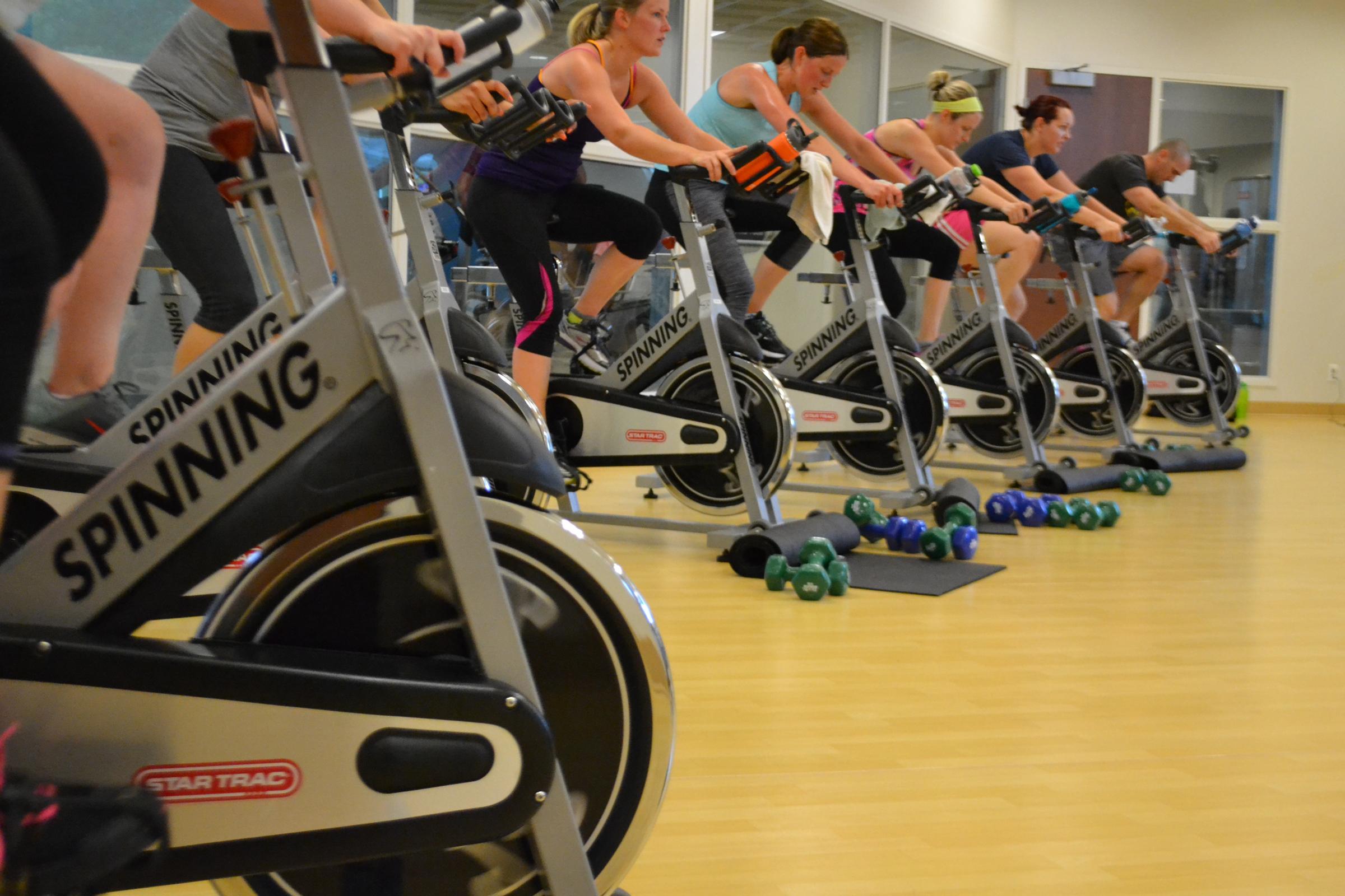 Kroc Center offers spin class