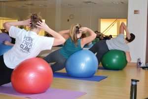 Kroc Center offers pilates along with several other fitness classes to help you meet your New Year's resolution fitness goals.