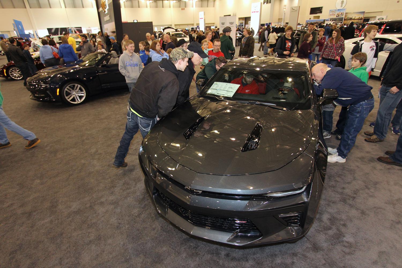 Michigan International Auto Show at DeVos Place.
