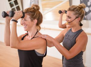 Studio Barre offers one-on-one training as well as group classes.
