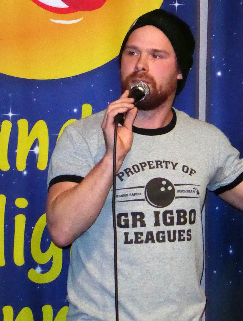 Alastair J. Watt performing at Sunday Night Funnies