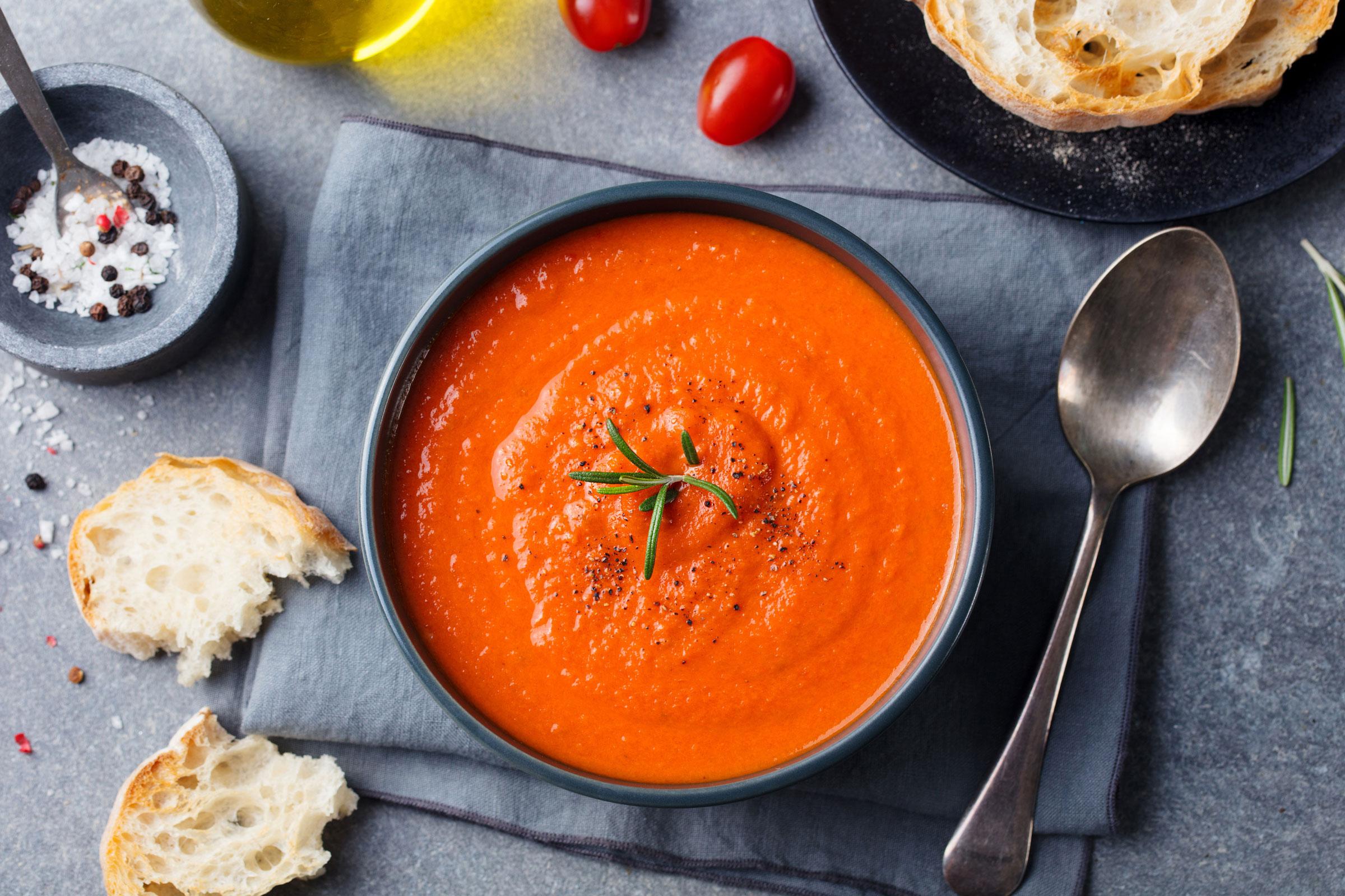 tomato soup, Thinkstock Photos