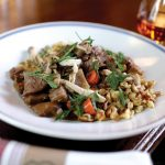 Butcher's Union is the new kid on the block, opening in early 1017. Beef stroganoff. Photo by Michael Buck, M-Buck Studio.