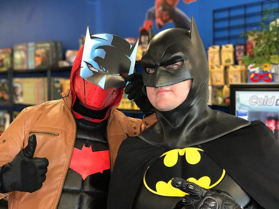 Members of the Cosplay Crusaders will visit The Comic Signal for its anniversary party.