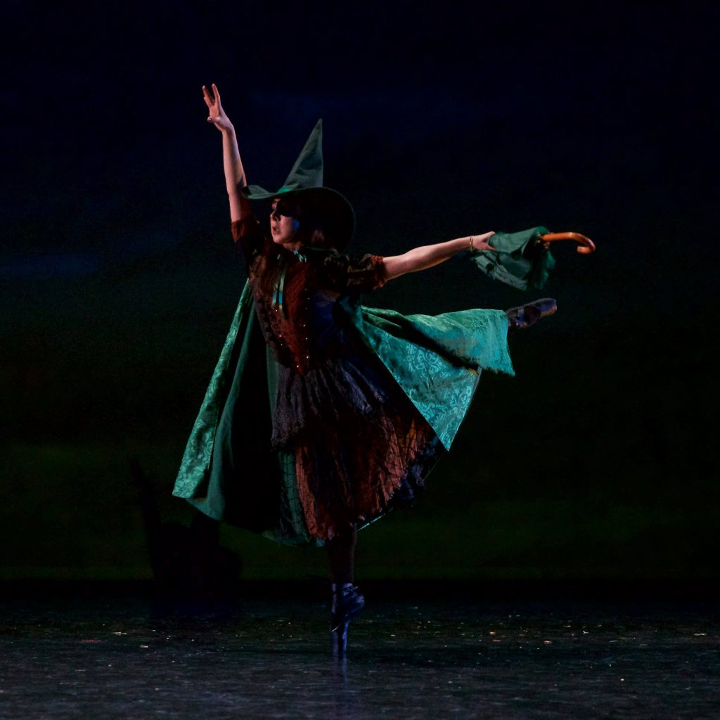 "Wicked Witch from Grand Rapids Ballet Junior Company's ""Wizard of Oz"" production."