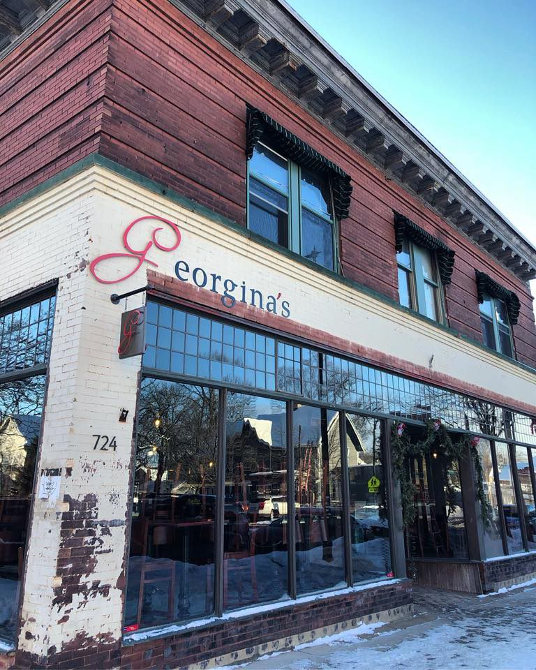 Georgina's is located in the former Phil's Stuff location on Wealthy Street.