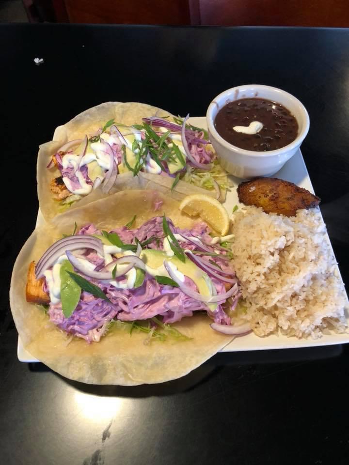 Georgina's offers a variety of tacos.