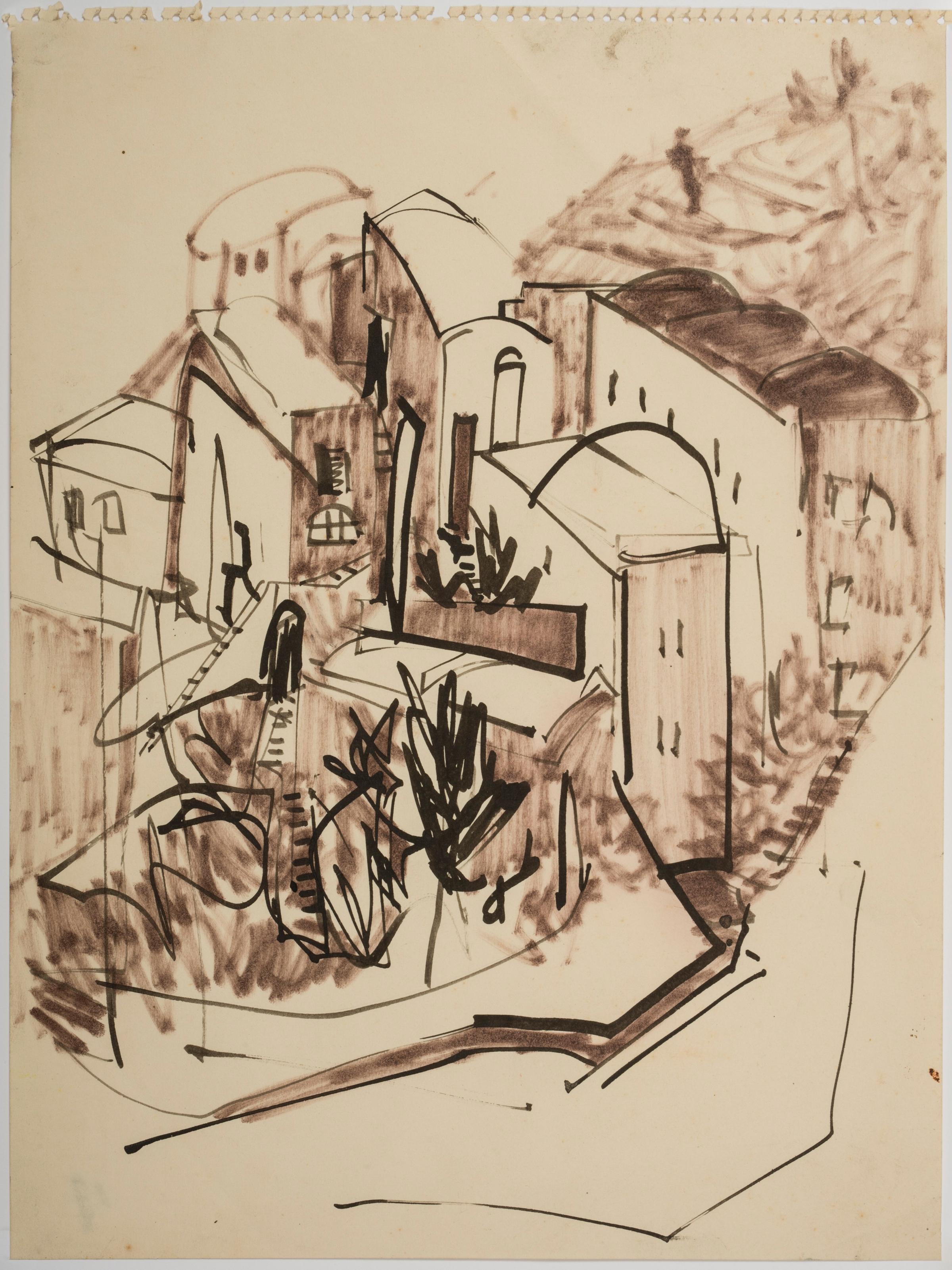 Landscape-Study-(Haute-de-Cannes)-1953-54