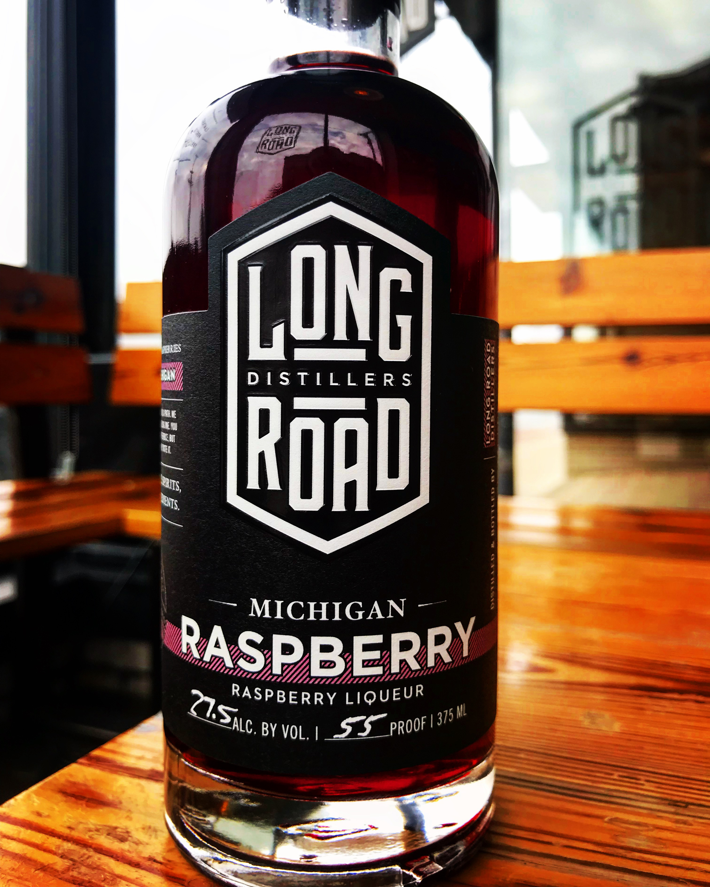Long Road Distillers Raspberry Liqueur