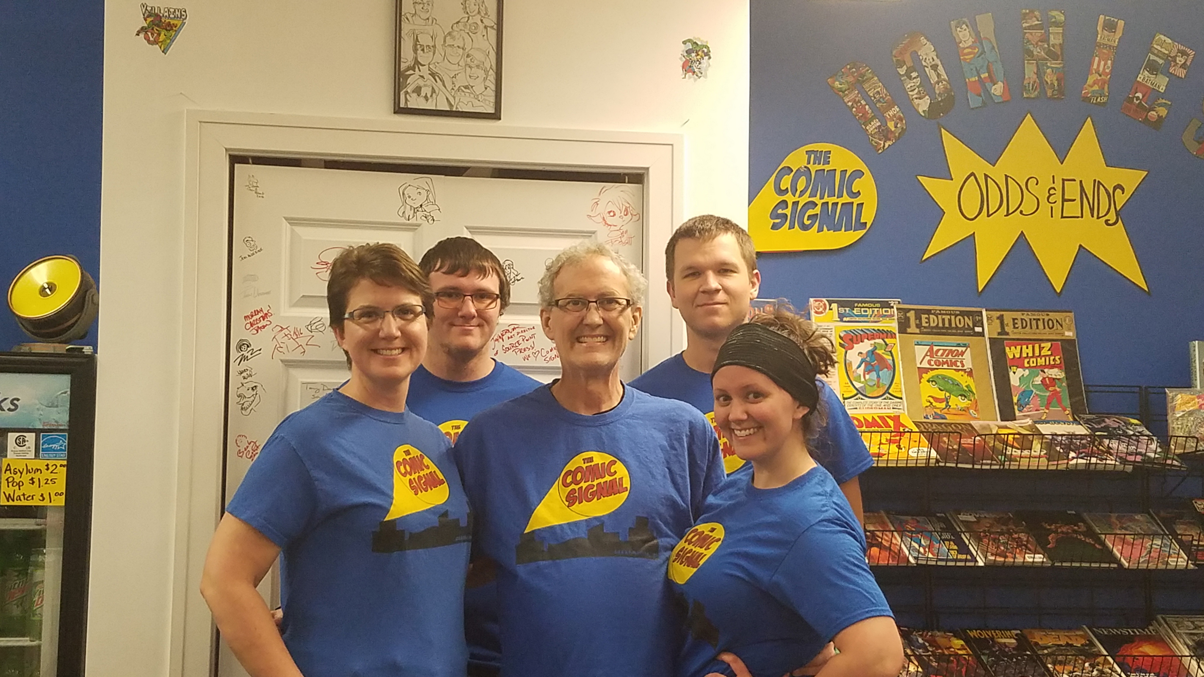 Myers Family opened The Comic Signal two years ago.