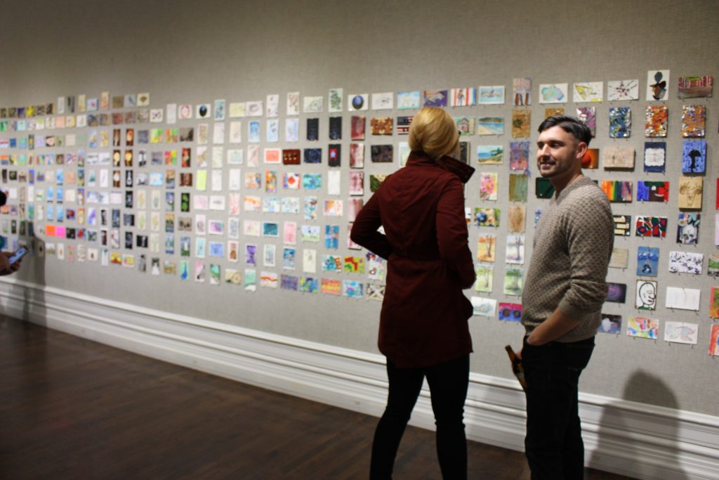 Expect to see thousands of postcards on display during Muskegon Museum of Art's Postcard Salon exhibition.