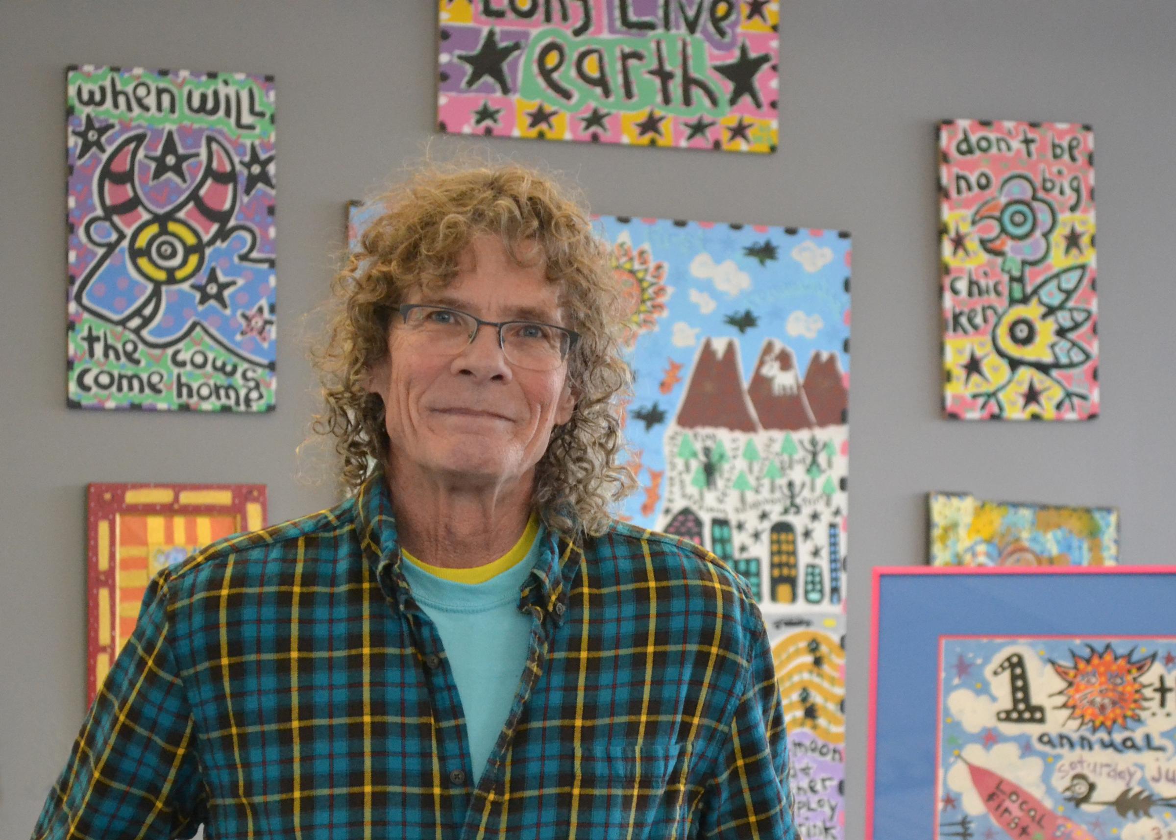 Artist Reb Roberts