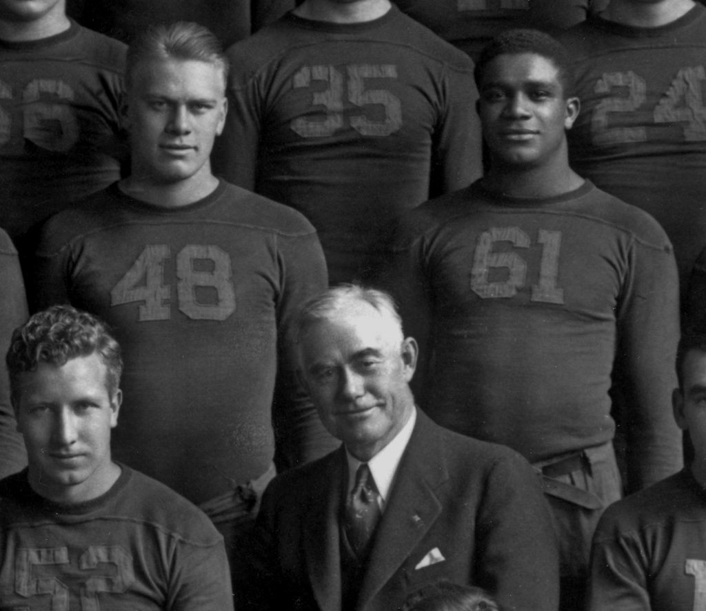 """Victors of Character"" tells the story of football players Gerald R. Ford and Willis Ward."