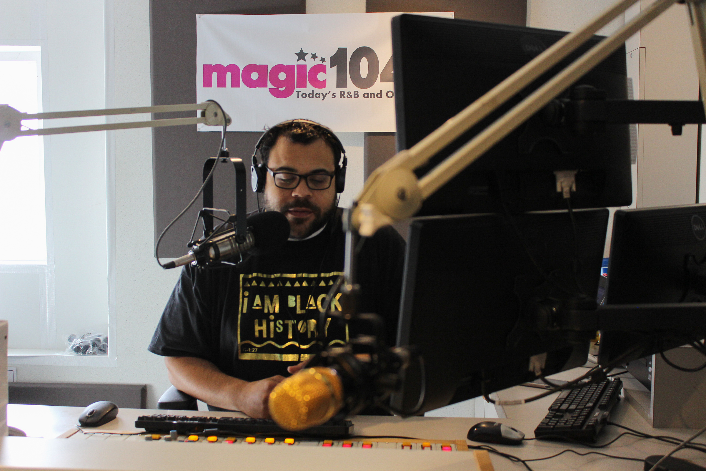 Ed Spillers, Magic 104.9