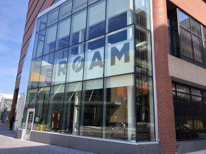 Roam is located across from DeVos Place and DeVos Performance Hall.