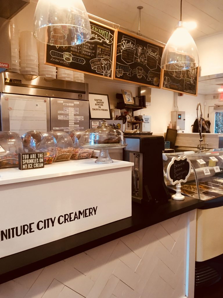 Furniture City Creamery opened in 2014 at 958 Cherry St SE.