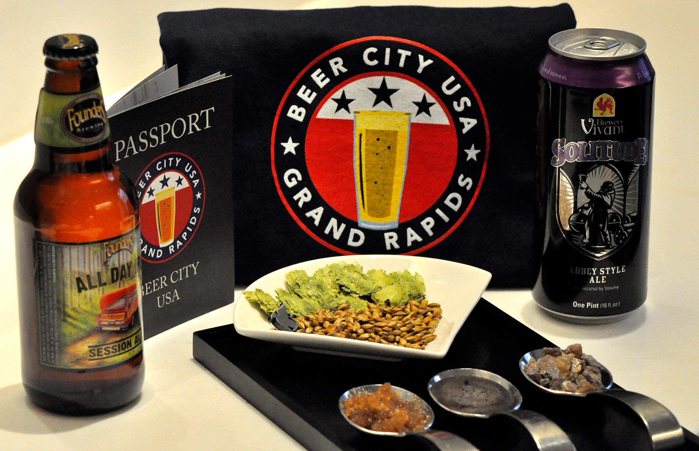 JW offers a special Beer City package that let's you enjoy many of GR's best breweries.