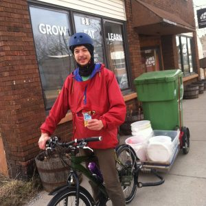 Urban Roots offers a compost collection service.