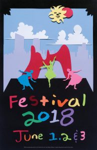 Festival of the Arts 2018 poster