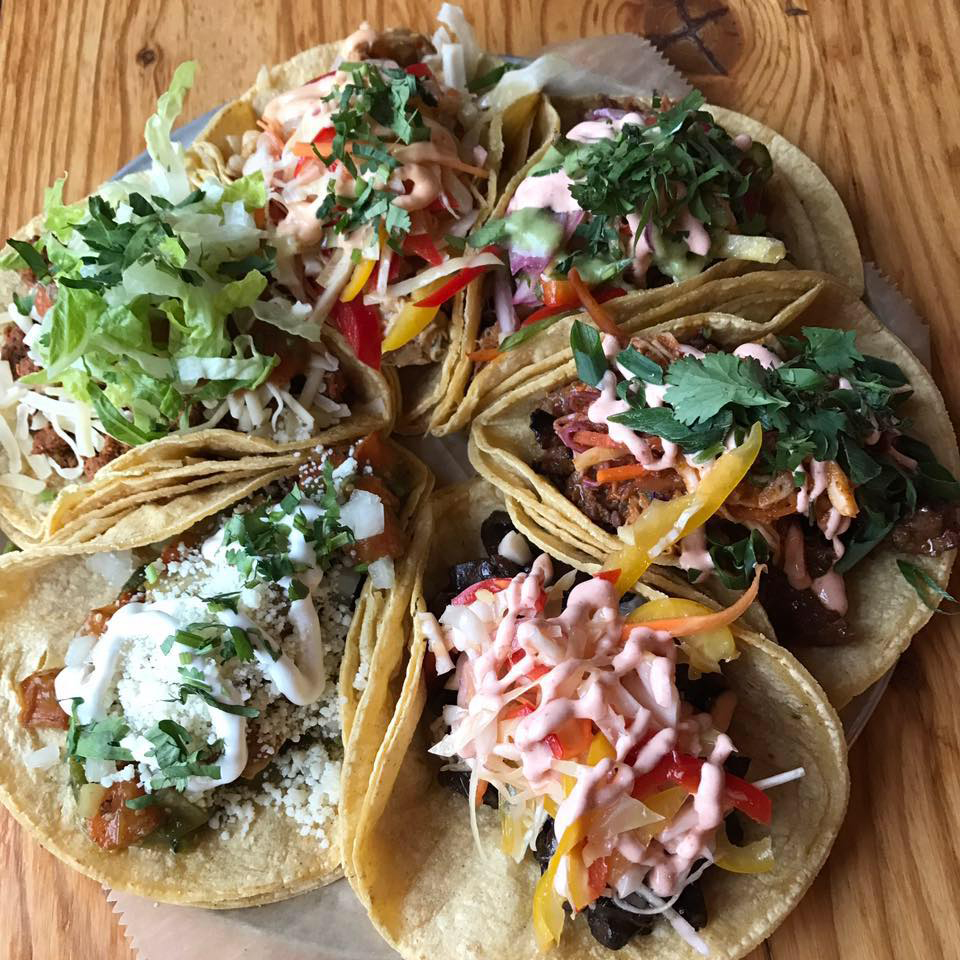 Tacos from What the Truck