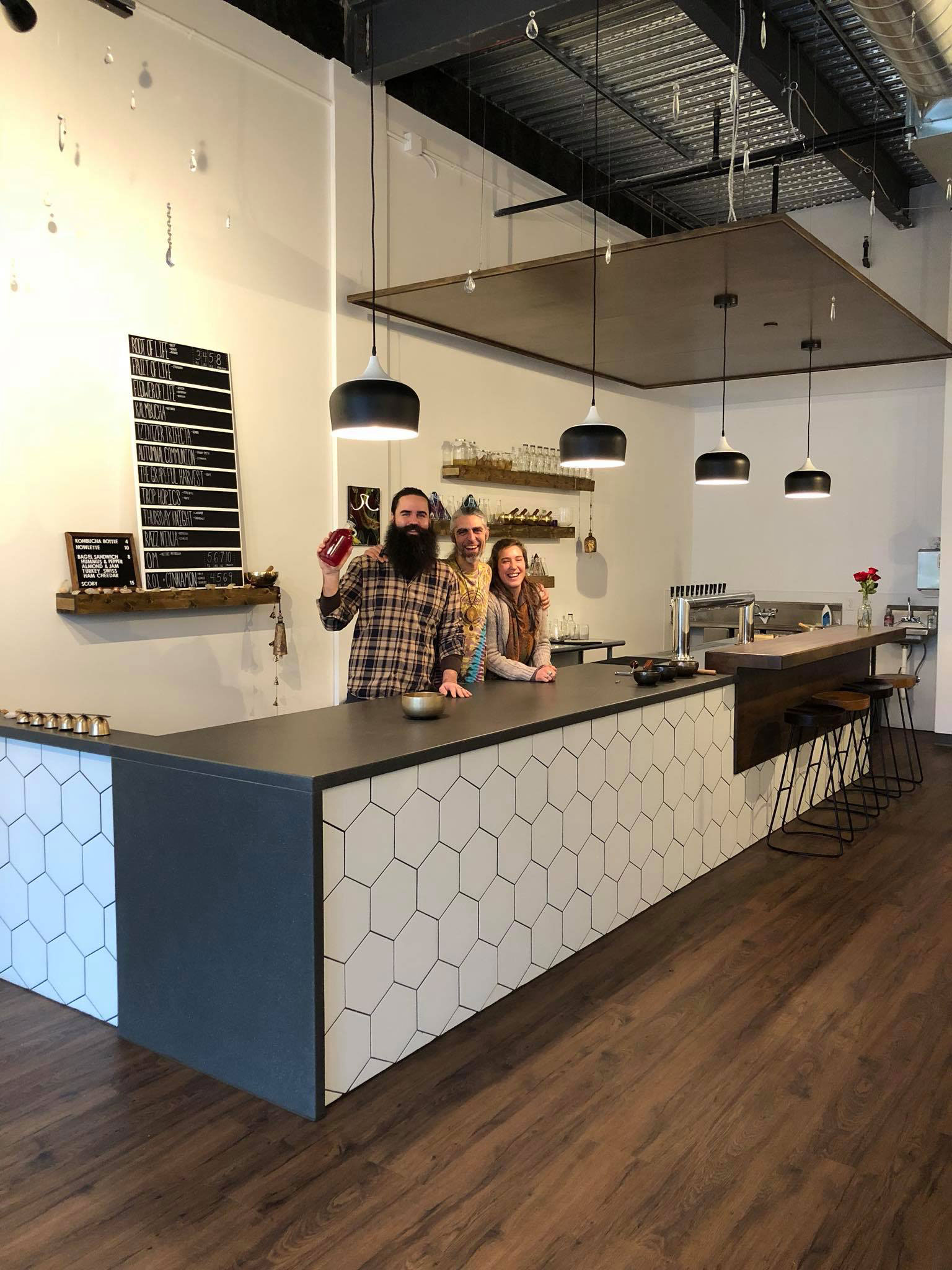 Sacred Springs opens on Wealthy Street.
