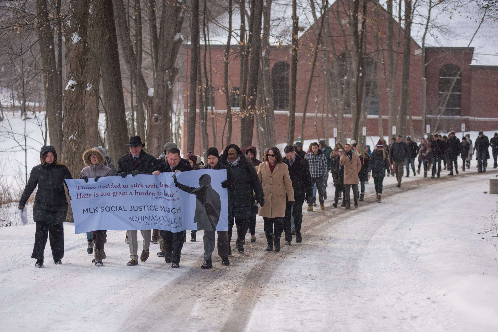 Aquinas College MLK Social Justic March