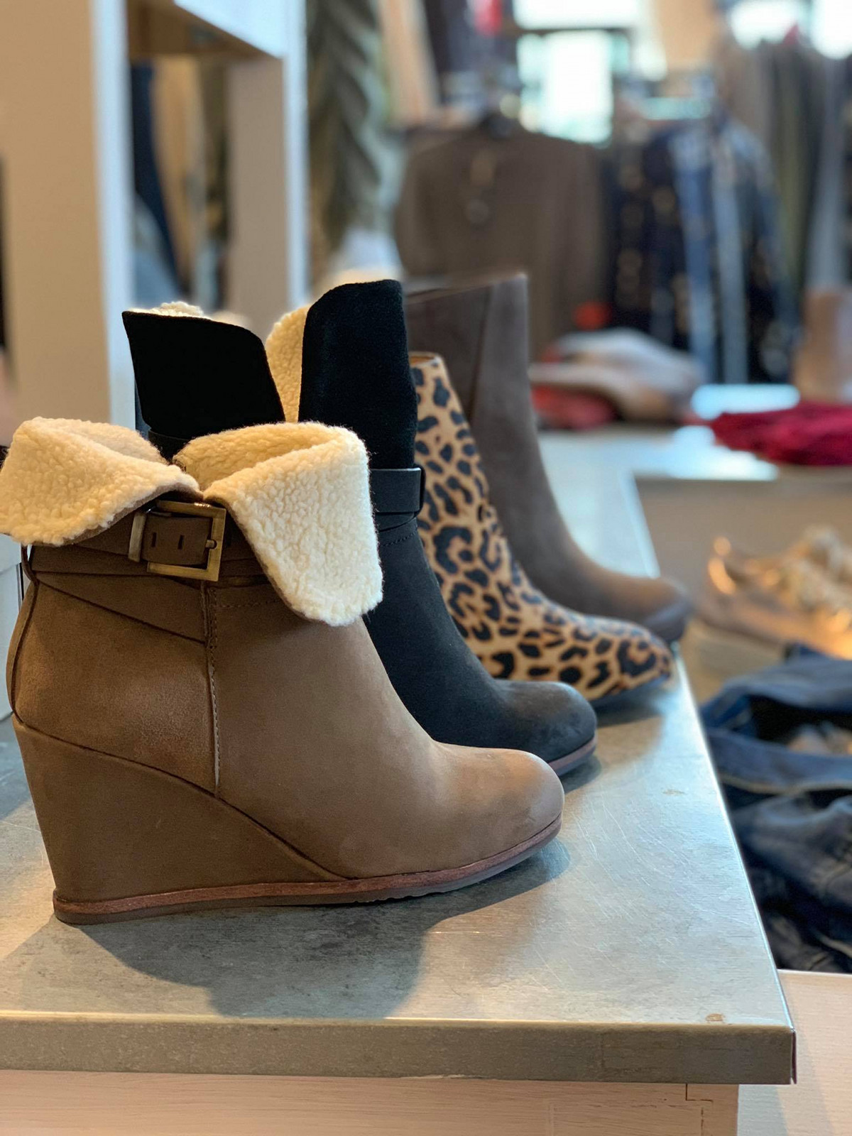The James Salone & Boutique boots