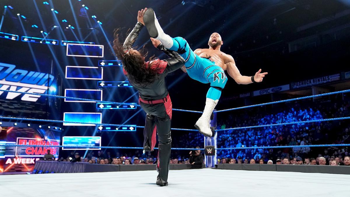 WWE Raw bout