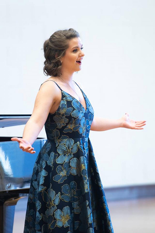Opera Grand Rapids 2018 Collegiate Vocal Competition Alexandra Galla
