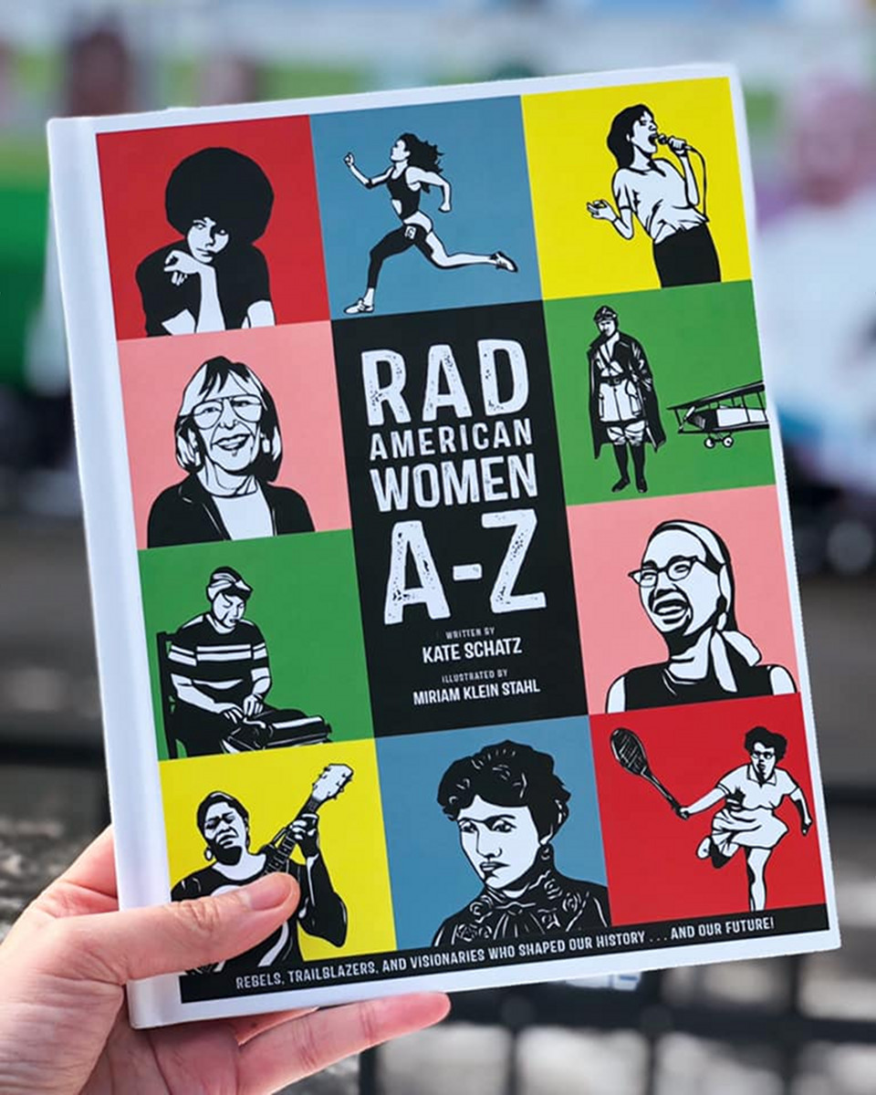 Rad American Women A-Z book cover