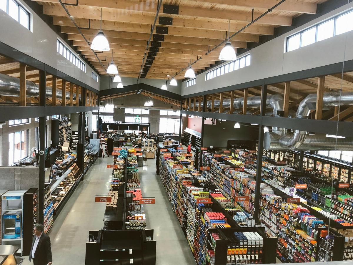 Ada Fresh Market interior