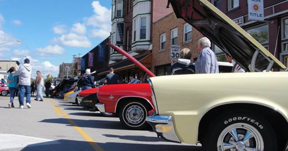 Creston Days Car Show neighorhood