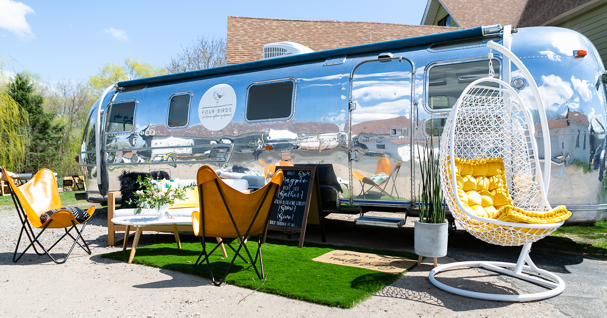 Four Birds Airstream Gathering Spaces