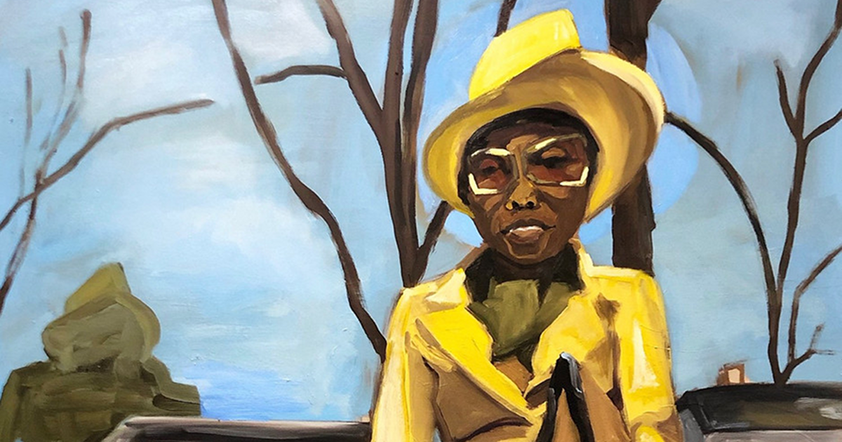 Jerrell Gibbs, Down Souf, Oil on Canvas, 2018