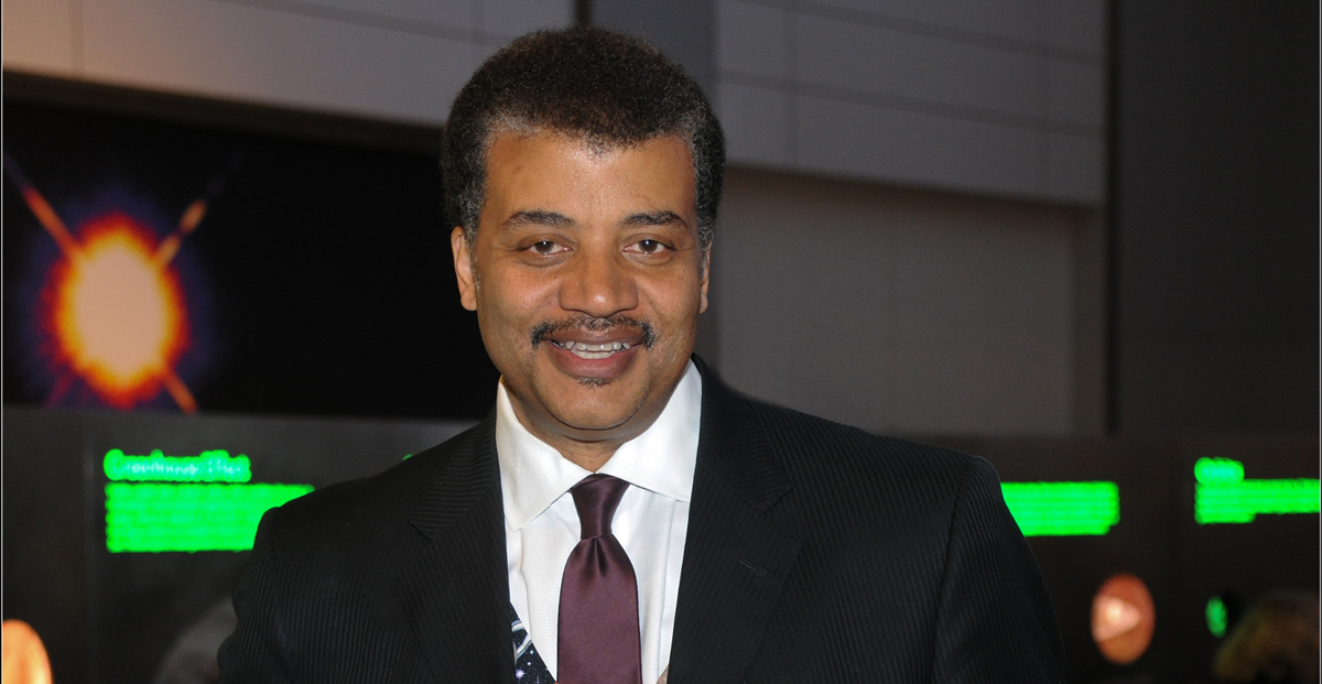 Neil deGrasse Tyson copyright AMNH Photo by Roderick Mickens